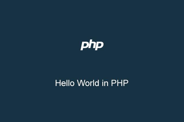 Membuat Hello World di PHP