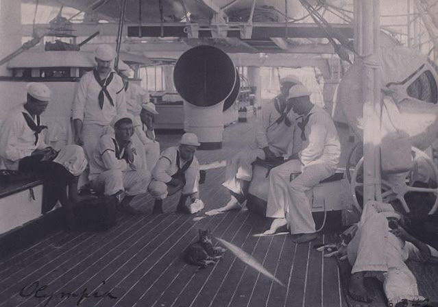 Cubierta del USS Olympia (C-6)