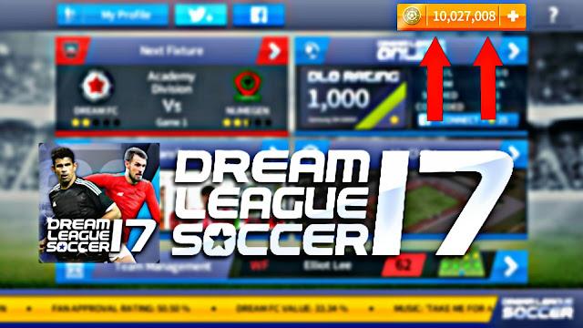 تحميل لعبة Dream League Soccer 2017 v4.15 مهكرة للاندرويد اونلاين بدون رووت (اخر اصدار)