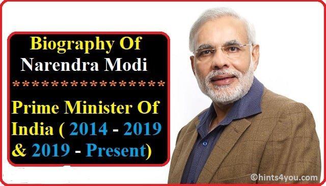 Biography Of Modi Ji