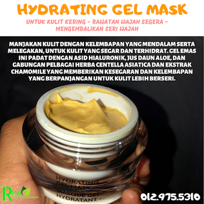hydrating gel mask youth shaklee