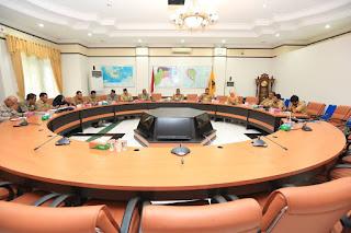Rapat Koordinasi Pembahasan Pencegahan dan Penertiban Transaksi Perjudian dan Penjualan Togel - Tarakan Info