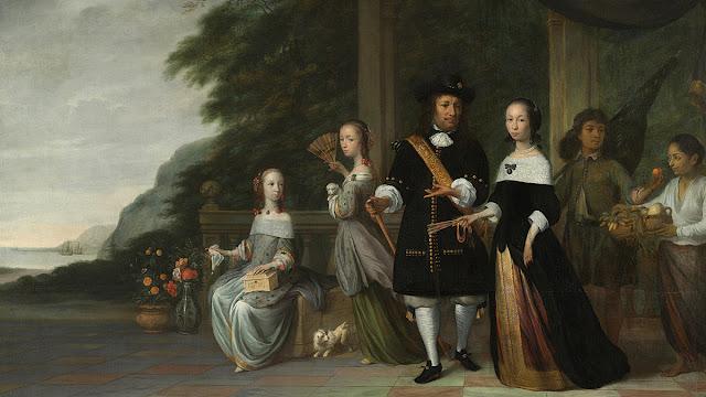 Untung Surapati menjadi budak dalam lukisan yang digambar Jacob Coeman tahun 1665.