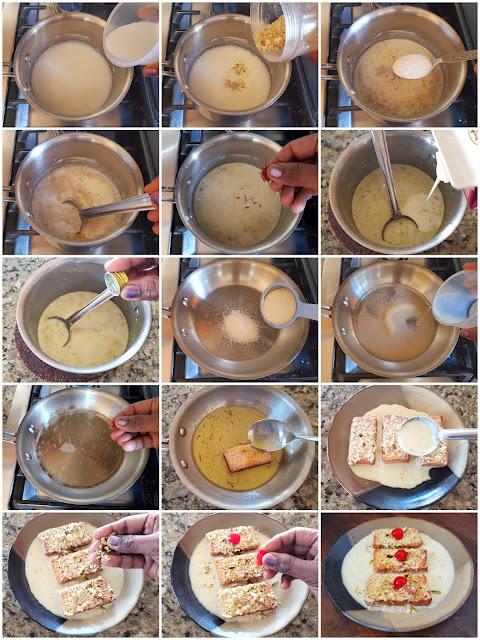 images of Rusk Shahi Tukda / Hot Rusk Shahi Tukra / Shahi Tukda With Rusk / Hot Rusk Pudding