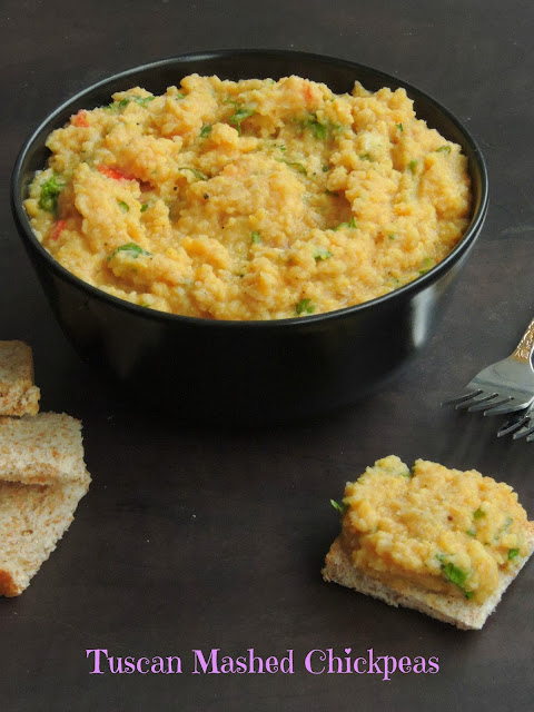Tuscan mashed chickpeas,  Mashed chickpeas
