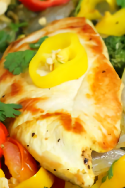 Lemon Chicken Skillet Dinner Recipe