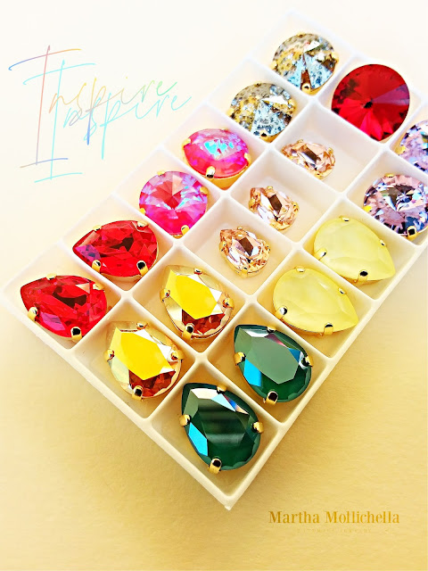 Martha Mollichella Swarovski Crystals beads