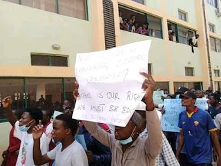 KASU students Protests School fees hike