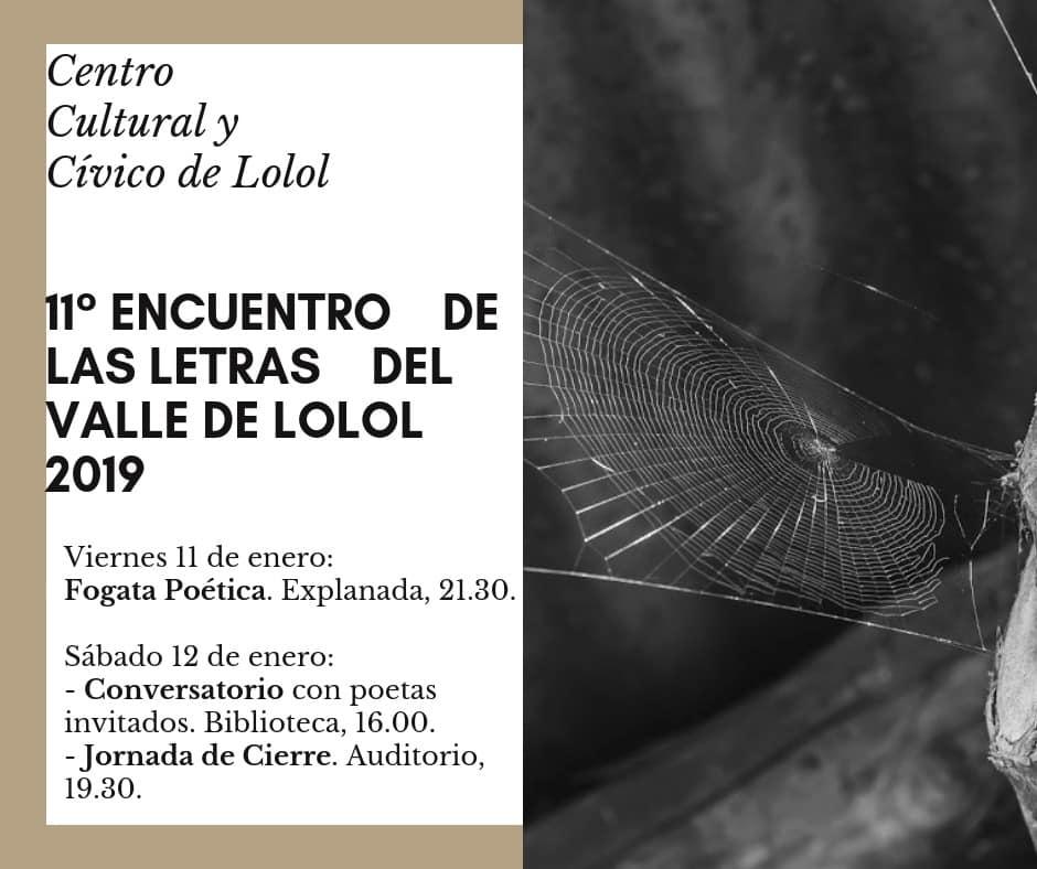11avo Encuentro de letras del Valle de Lolol