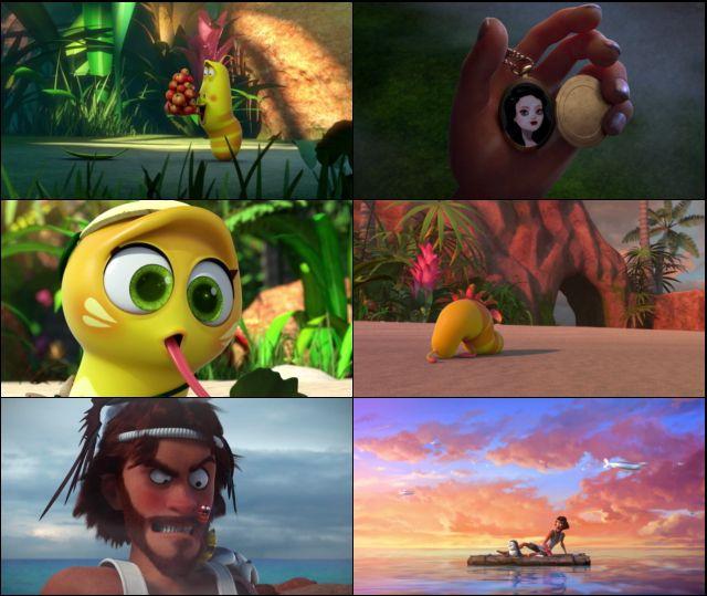 Isla Larva: La película (2020) HD 1080p y 720p Latino Dual