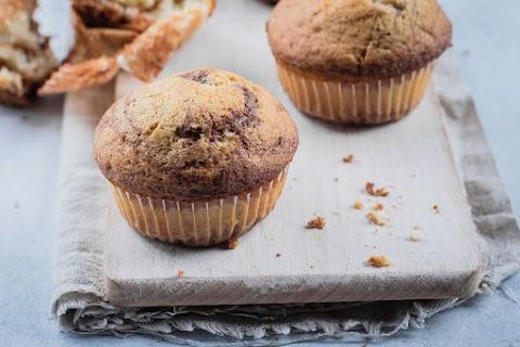 Vaníliás, kakaós, tarka muffin: könnyed desszert 30 perc alatt