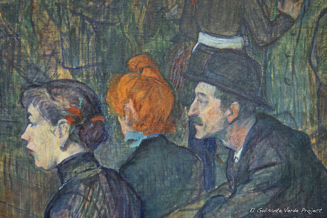 Toulouse Lautrec en el Art Institute de Chicago, por El Guisante Verde Project