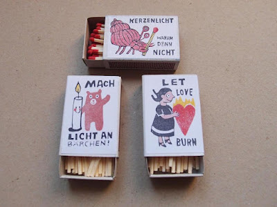 Illustrated Matchbox Set