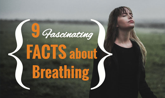 9 Fascinating Facts About Breathing #infographic
