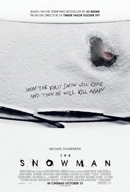 the snowman,雪人,雪中罪