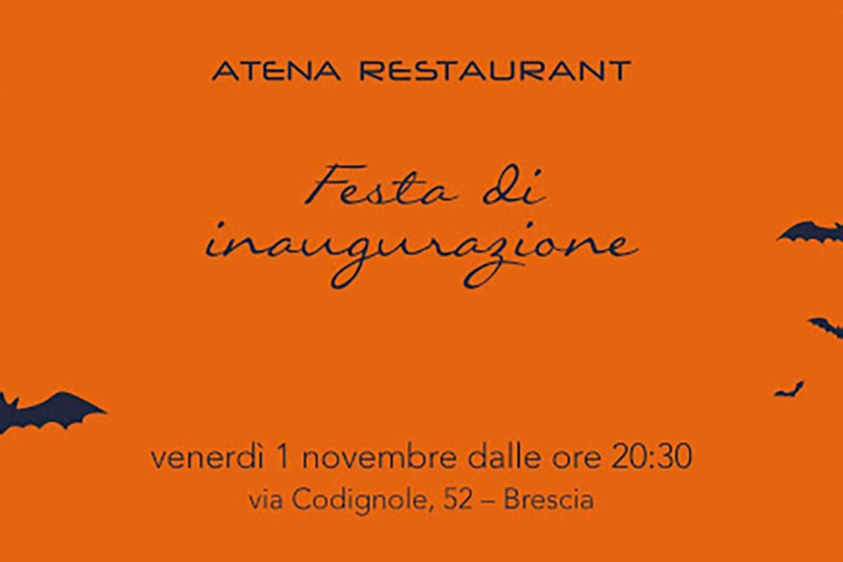 Vivi la magia della notte delle streghe in Atena Restaurant!