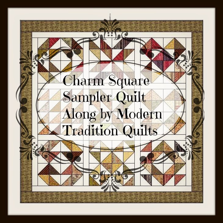 Modern Tradition Quilts Charm Square Quilt Along 2015