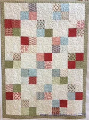 Christmas Quilt made by Karen