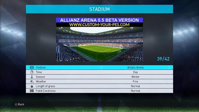 Allianz Arena Stadium PES 2018