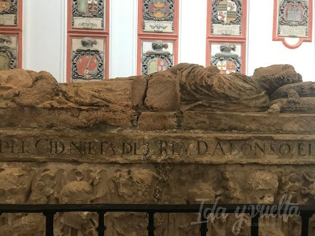 Monasterio de San Pedro de Cardeña sepulcros cidianos