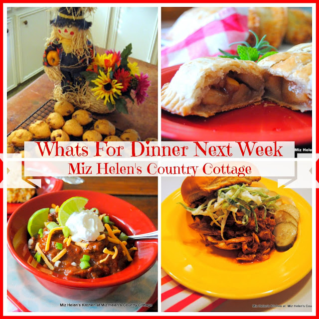 Whats For Dinner Next Week, 1-1-20 at Miz Helen's Country Cottage