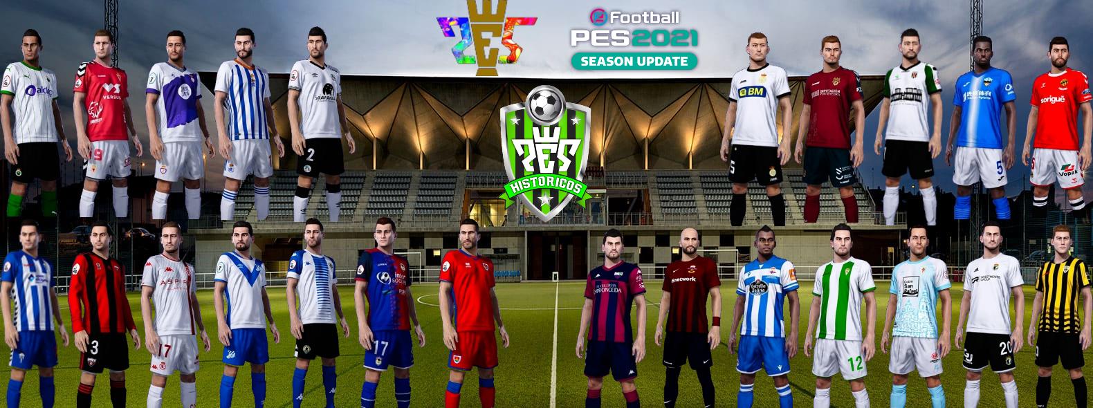 eFootball PES 2021 | Ya Disponible el Option File de PES HISTÓRICOS V2