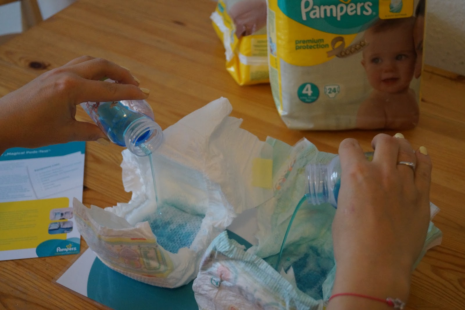 pampers premium protection oder baby dry