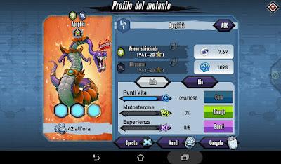 Mutants: Genetic Gladiators Breeding video N°188 (Zombie - Apophis)