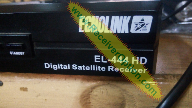 ECHOLINK EL-444 HD RECEIVER FLASH FILE