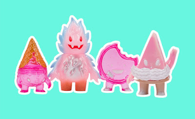 Valentine's Day 2021 Sofubi Vinyl Figures by Super7
