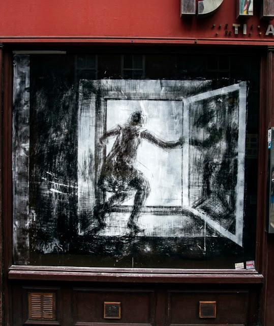 "Borondo ""Dia - Noche"" New Street Piece - East London (Part II) 10"