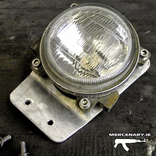 Superlight Project - Headlight Mount