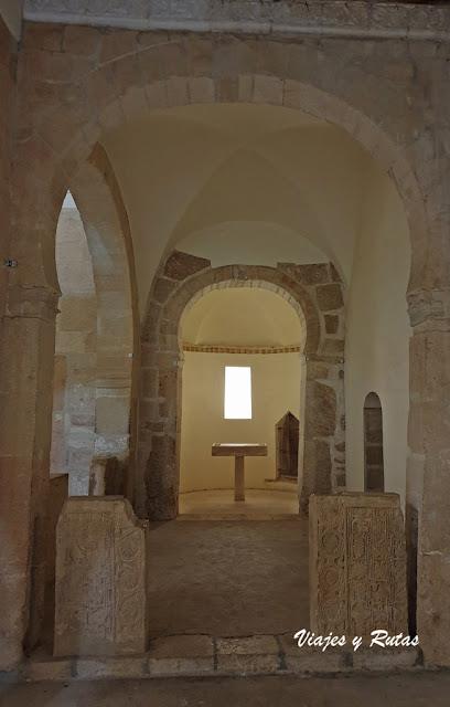 Ábside de San Miguel de Escalada