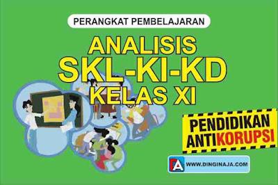Analisis SKL-KI-KD Pendidikan Anti Korupsi Kelas XI