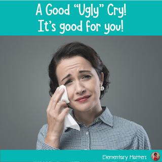 "Experts say a ""good ugly cry"" is healthy for you, and teachers might just need a little something to help the tears flow. These songs always help me!"