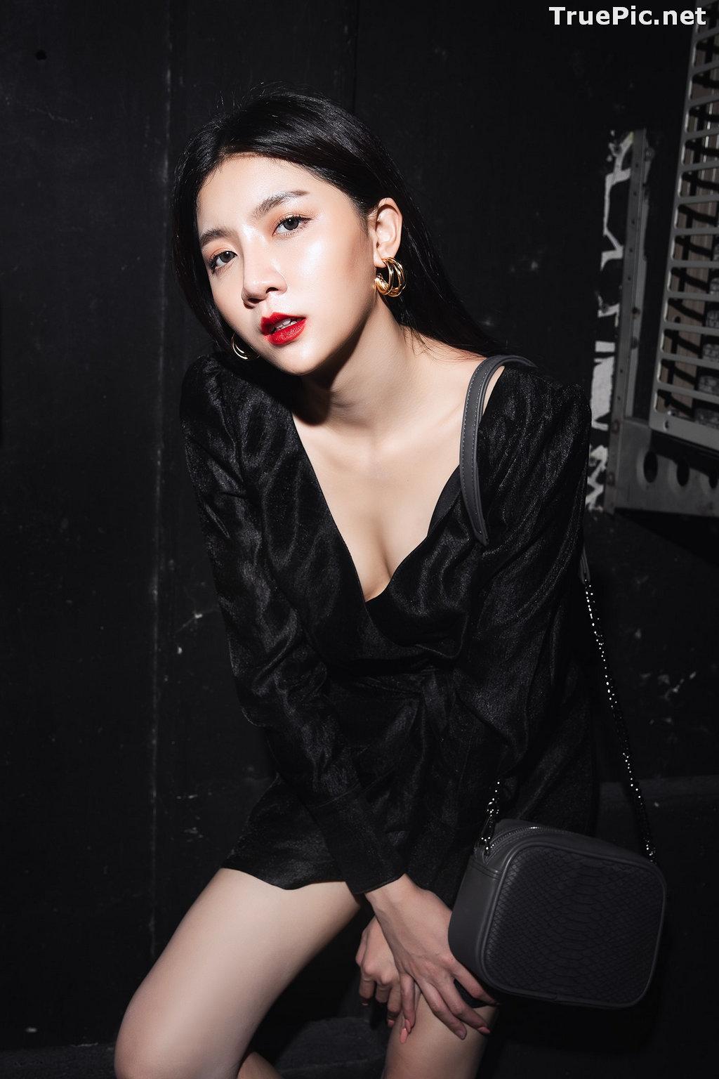 Image Thailand Model - Sasi Ngiunwan - Black For SiamNight - TruePic.net - Picture-5