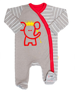 a Royal Romper suit