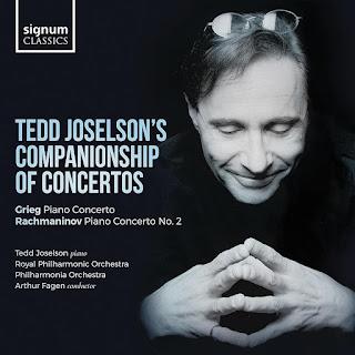 Grieg Piano Concerto, Rachmaninov Piano Concerto No. 2; Tedd Joselson, Royal Philharmonic Orchestra, Philharmonia Orchestra, Arthur Fagen; Signum Classics