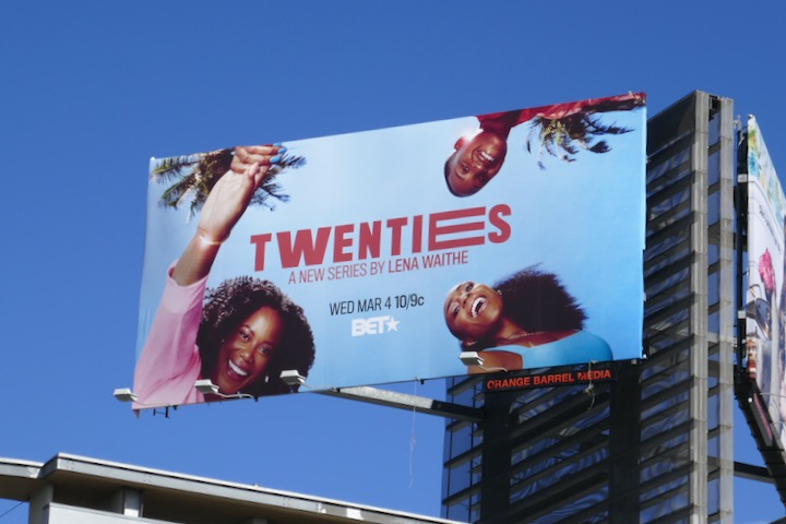Twenties BET series billboard