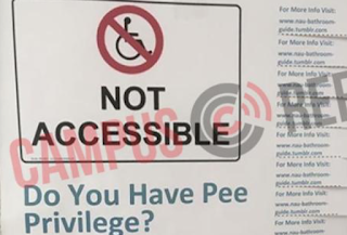 Northern Arizona University Asks Students To Contemplate 'Pee Privilege'