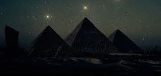pyramid Orion correlation theory