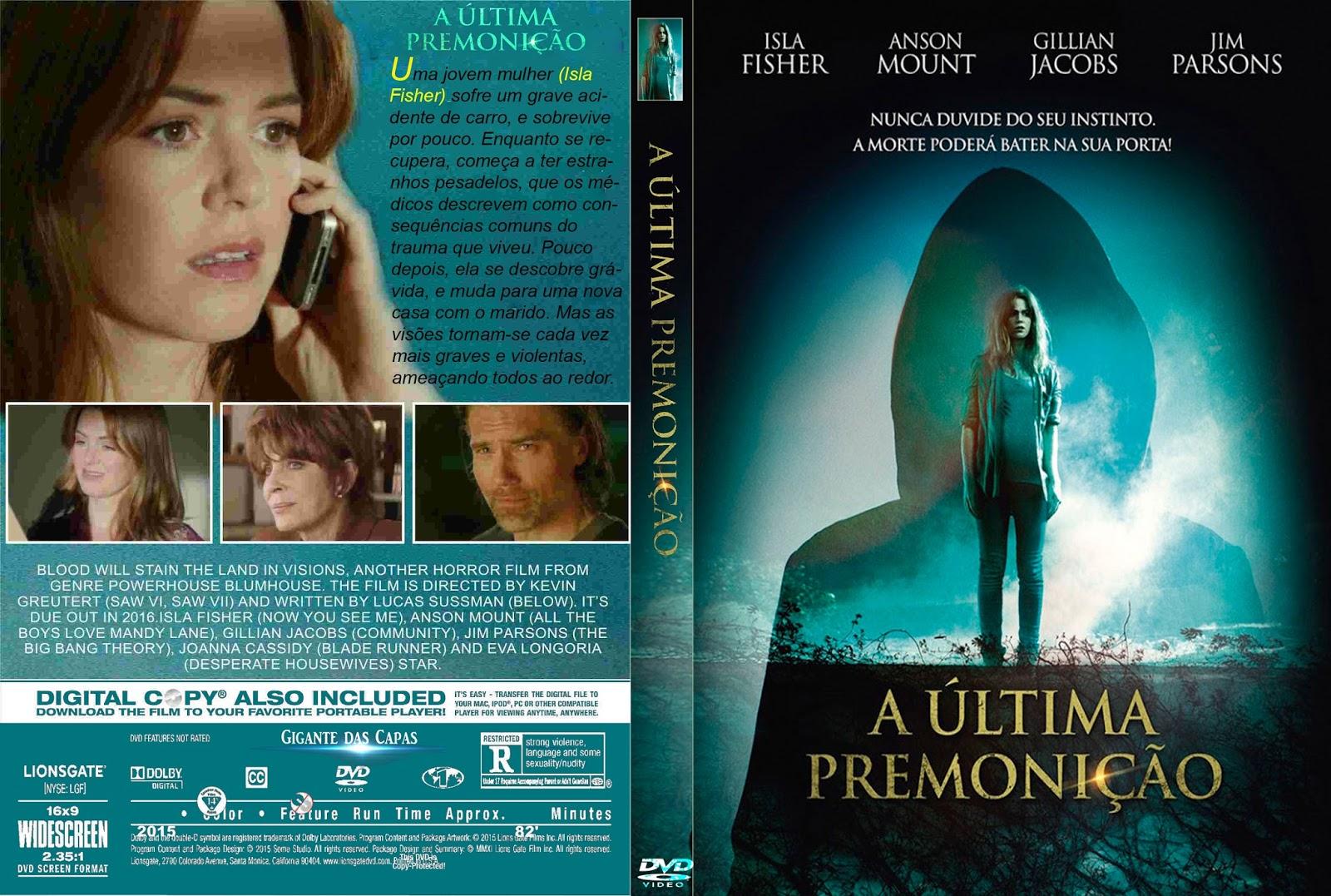 A Última Premonição DVD-R