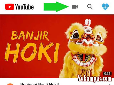 upload video youtube lewat hp