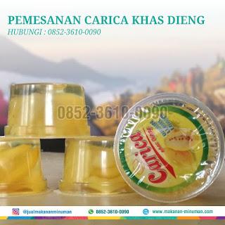 manisan carica khas dieng, 0852-3610-0090
