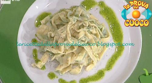 Tagliatelle verdi di rucola ricetta Gandola da Prova del Cuoco