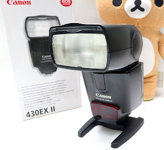 Flash Canon 430EX II Bekas