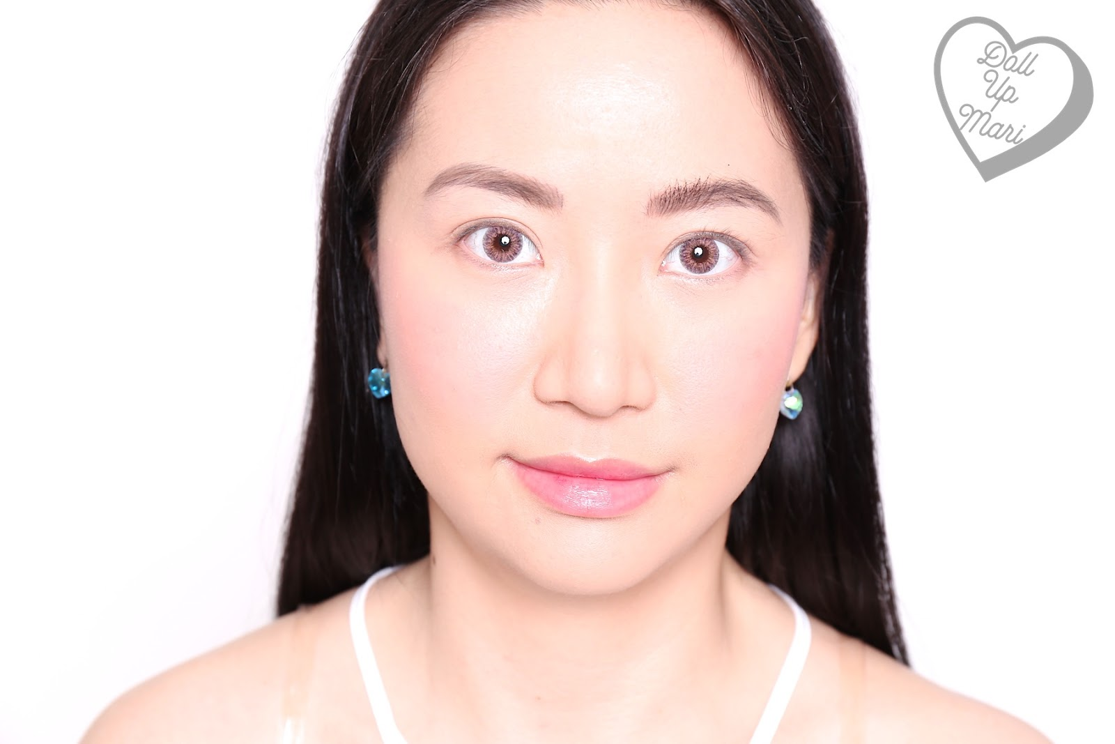 Using Maybelline HyperCurl on the brows