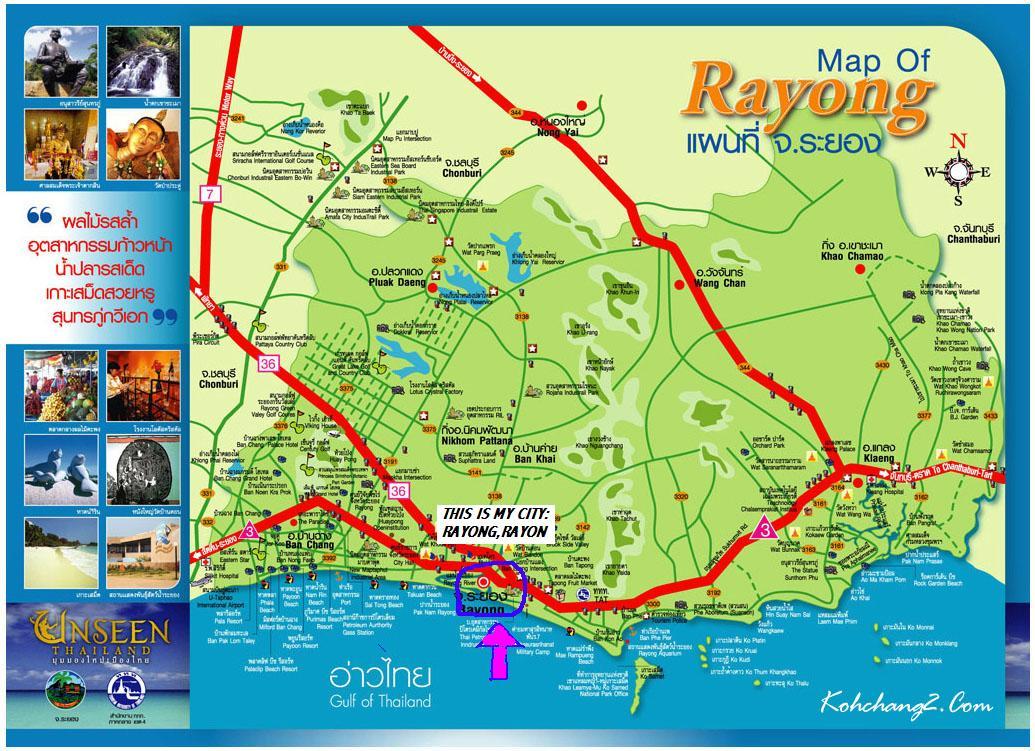 karta över rayong thailand Kartor   Swethaiparadise karta över rayong thailand