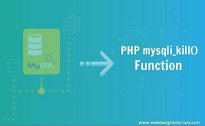 PHP mysqli_kill() Function