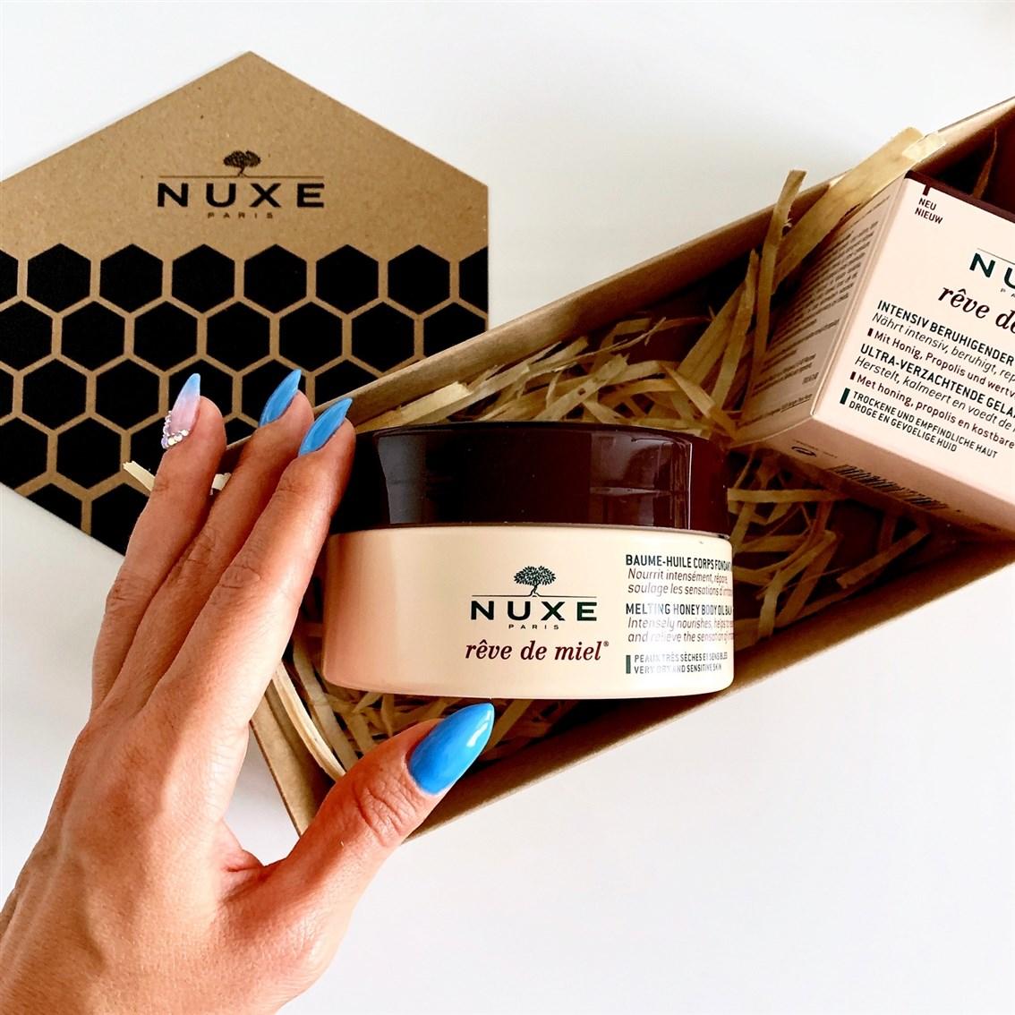 Nuxe Reve de Miel olejkowy balsam do ciała
